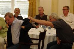 Nádas Péter, Bodor Ádám, Spiró György, Závada Pál és Esterházy Péter (DIA, 2011)