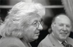 Esterházy Péter és Kertész Imre (fotó: Dobóczi Zsolt, 2005)