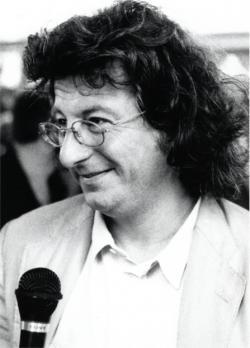Esterházy Péter (fotó: Gál Csaba, 1990)