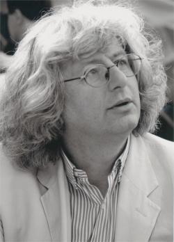 Esterházy Péter (fotó: Gál Csaba, 2002)