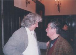 Esterházy Péter, Juhász Ferenc