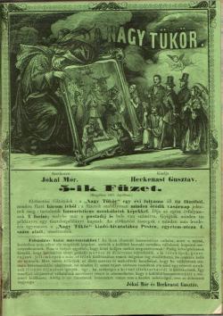 A Nagy Tükör. Pest, 1858.