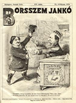Borsszem Jankó. Pest, 1876.