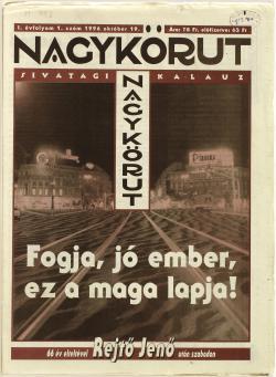 Nagykörút. Sivatagi kalauz. Bp., 1996. (1. évf. 1. sz.)