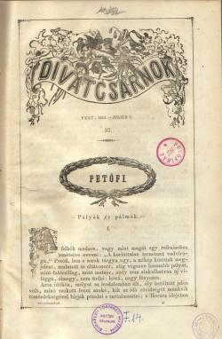 Divatcsarnok. Pest, 1854.