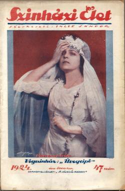 Színházi Élet. Bp., 1924.