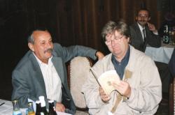 Ferenczes Istvánnal Berekfürdőn (2001)