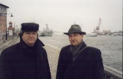Görömbei Andrással Svédországban (2000)