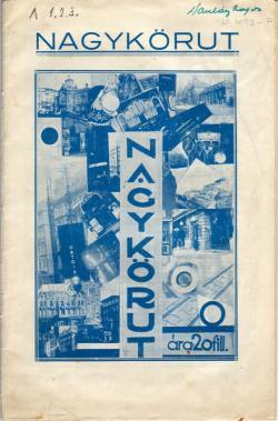 Nagykörút, Bp., 1930.