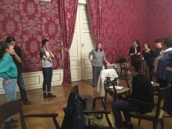 Drámapedagógiai workshop Eck Júliával