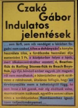 Indulatos jelentések (1973)
