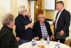 Kántor Péter, Parti Nagy Lajos, Závada Pál és Prőhle Gergely