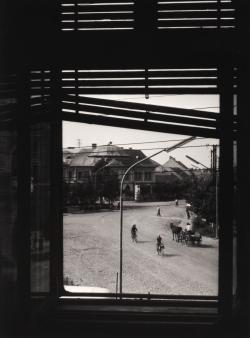 Kilátás a makói főtérre (1962)