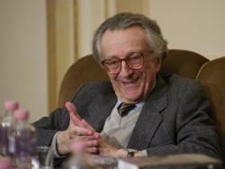 Lator László a születésnapi rendezvényen (2012)