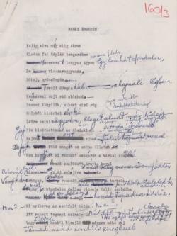 A Nehéz ébredés kézirata