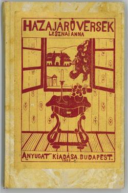 A Hazajáró versek címlapja