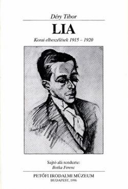 Lia. Korai elbeszélések 1915–1920 (1996)