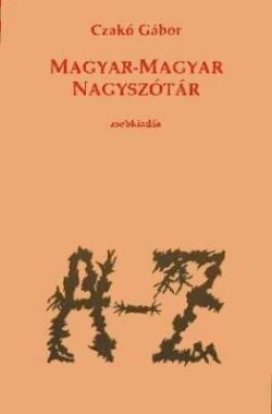 Magyar-magyar nagyszótár (1994)