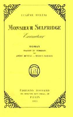 Monsieur Selfridge escamoteur (1925)