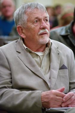 Oravecz Imre 75. születésnapjának köszöntésén (2018, PIM)