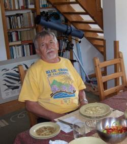 Oravecz Imre szajlai otthonában (2013)