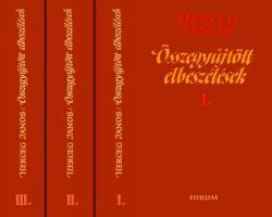 Összegyűjtött elbeszélések  I-III. (1986)
