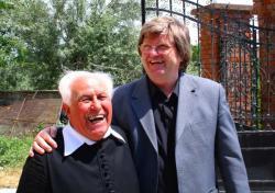Pannonhalmi osztályfőnökével, Forrai Botond atyával