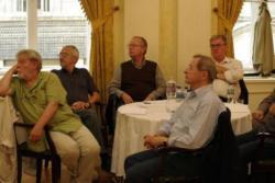 Parti Nagy Lajos, Bodor Ádám, Spiró György, Nádas Péter és Závada Pál