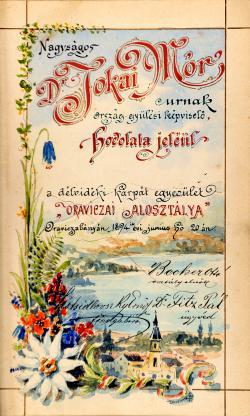 A Délvidéki Kárpát-Egyesület kalauza, Temesvár, 1894.