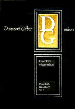 Plautus vígjátékai I-II. (1977)