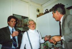 Sütő Andrással és Annus Józseffel (1988)