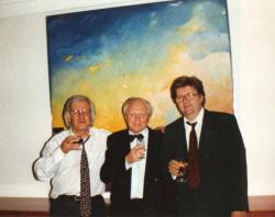 Szakolczay Lajossal Kalász Márton 60. születésnapján Stuttgartban (1994)
