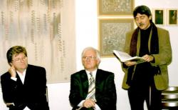 Szakolczay Lajossal Orosz Istvánt hallgatva (2003)