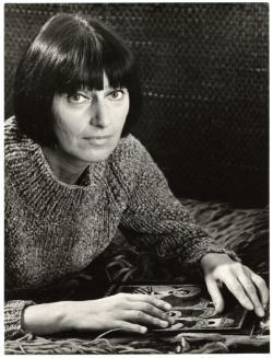 Szécsi Margit. Óbuda, 1973. (Fotó: Balla Demeter)