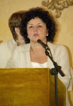 Csorba Csilla, a Petőfi Irodalmi Múzeum főigazgatója