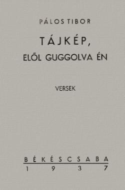 Tájkép, elöl guggolva én (1937)