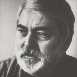 Portré (fotó: Kecskeméti Kálmán, 1992 körül)