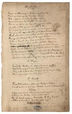 Berzsenyi Dániel (1776–1836) versei