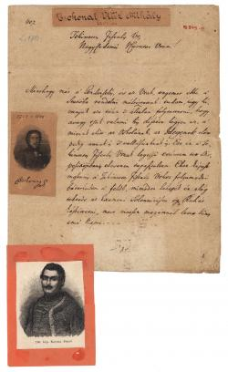 Csokonai Vitéz Mihály (1773–1805) autográf tintaírású levele Csépán Istvánnak (1758 körül–1830)