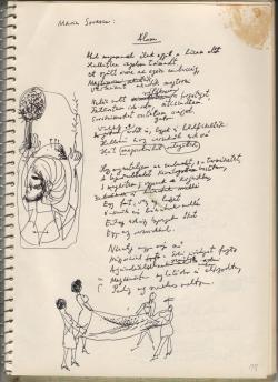 Marin Sorescu (1936–1996) Álom című verse Nagy László (1925–1978) autográf fordításában