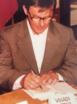 Vasadi Péter dedikál (1982)