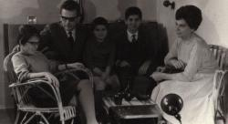 Vasadi Péter és családja