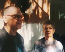 Vasadi Péter és felesége