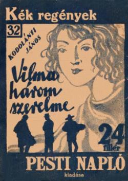 Vilma három szerelme (1930)