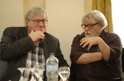 Závada Pál és Parti Nagy Lajos (2013, DIA)