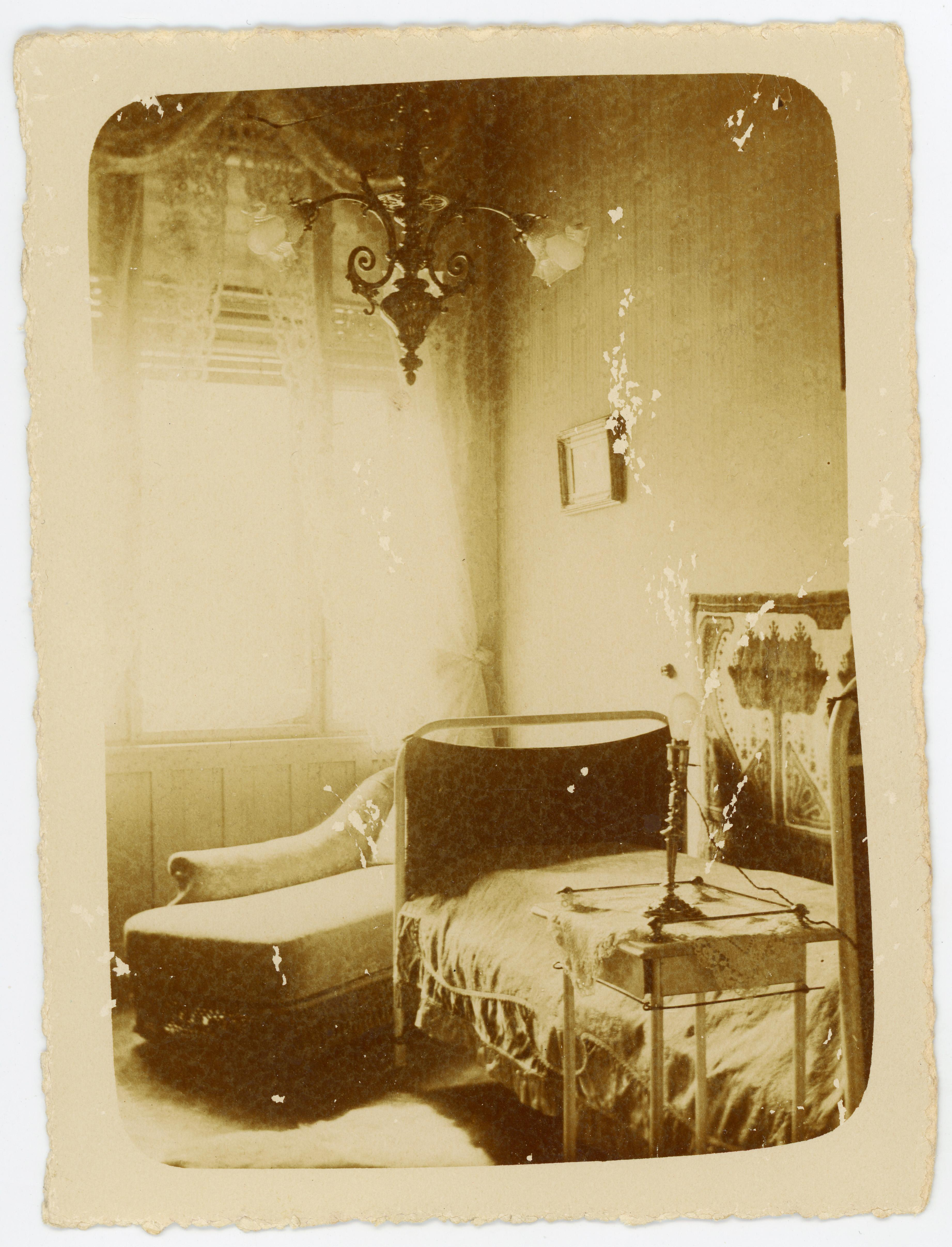 Csáth Géza szobája