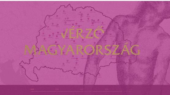 A Vérző Magyarország térképmelléklete