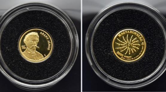Arany-ezüst érmek a PIM-ben