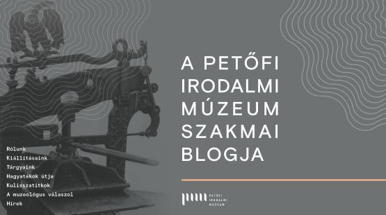 Irodalmi muzeológia első kézből