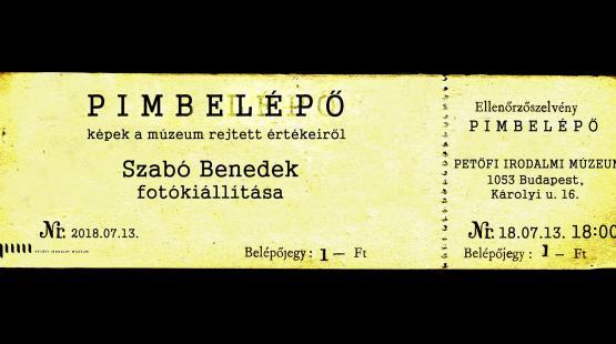 Szabó Benedek fotó-tárlata a Bártfay-teremben